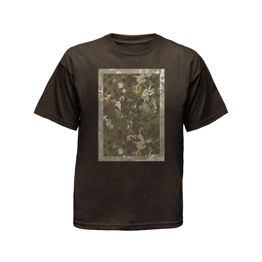 Brown Men's T-Shirt Ghost Apparel Photography