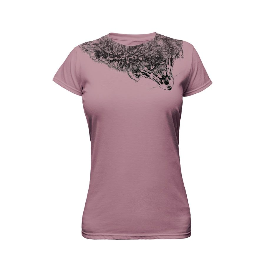 Taupe Ladies T-Shirt Ghost Apparel Photography