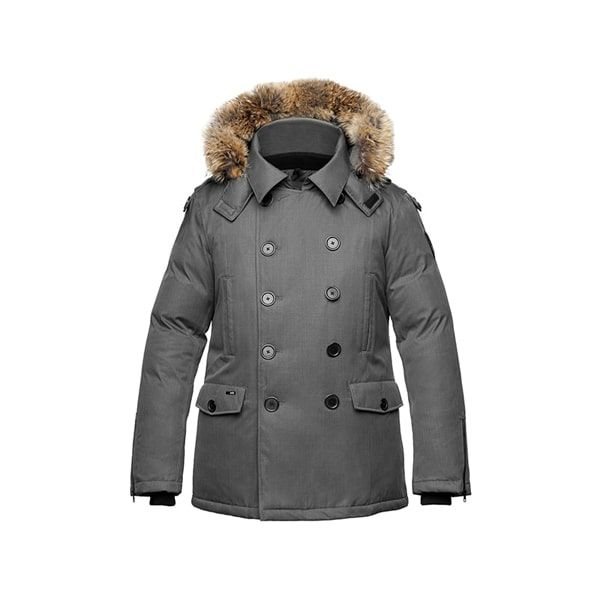 Male Parka Jacket ghost apparel photography