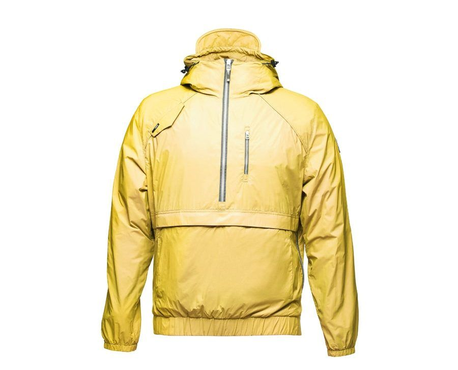 Yellow Rain Coat Ghost Apparel Photography