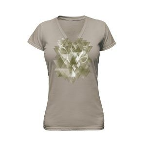 Brown Ladies T-Shirt Ghost Apparel Photography