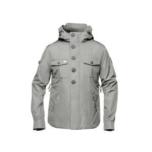Fisherman Coat Grey Ghost Apparel Photography