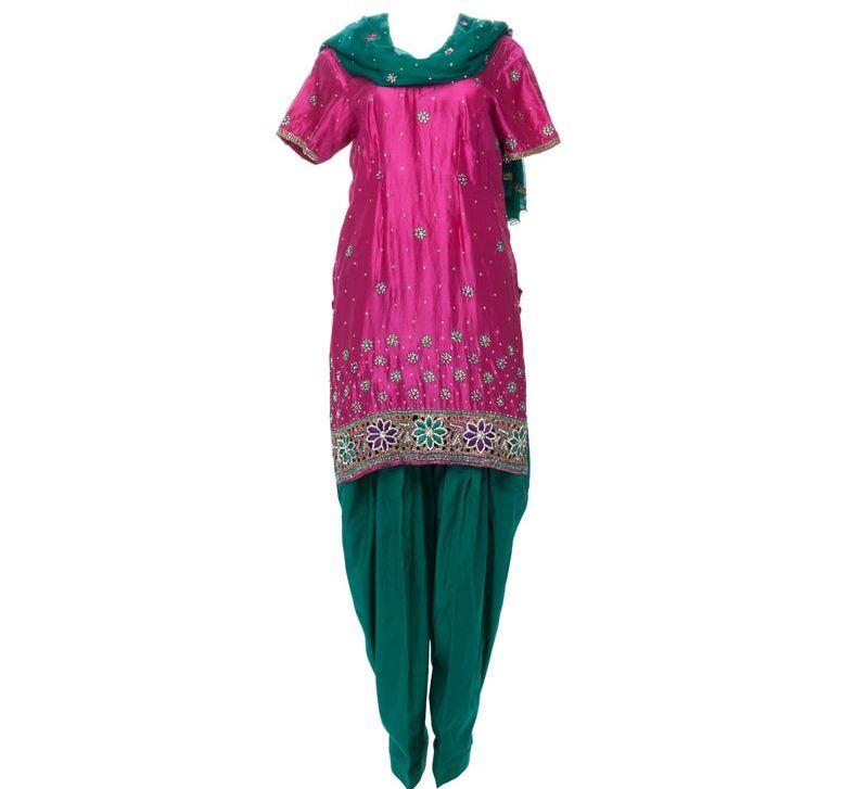 Ladies Punjabi Suit Ghost Apparel Photography