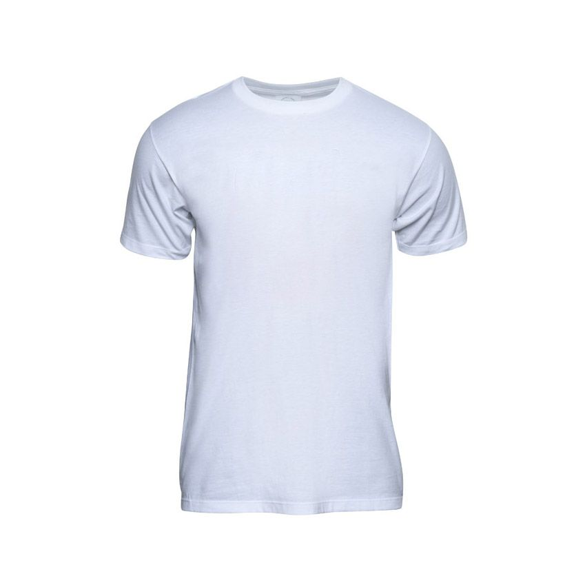 white male tshirt ghost apparel product photography
