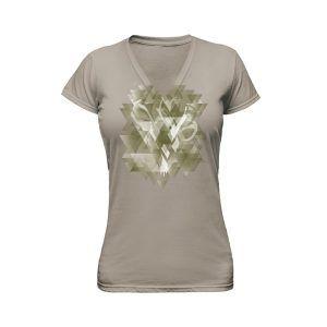 brown ladies tshirt ghost apparel photography