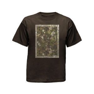 brown mens tshirt ghost apparel photography
