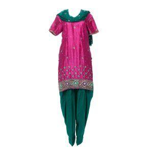 ladies panjabi suit ghost apparel photography