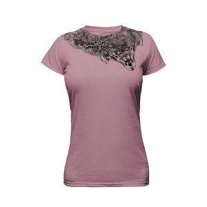 taupe ladies tshirt ghost apparel photography